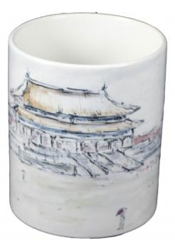 Tasse Verbotene Stadt, Peking, China